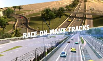 Racing: Need For Race on Real Asphalt Speed Tracks