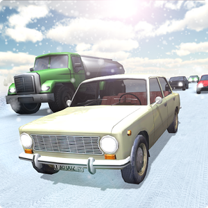 Russian Winter Traffic Racer