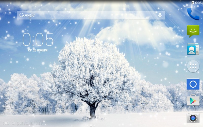 Winter nature live wallpaper android - A live nature wallpaper ...