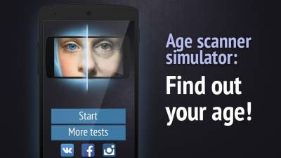 Face scanner: What age