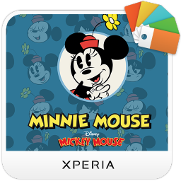 XPERIA™ Minnie Mouse Theme