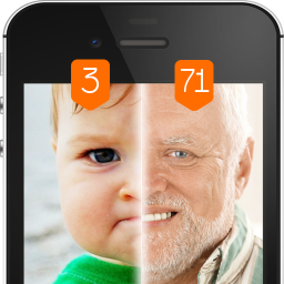 Face scanner What age