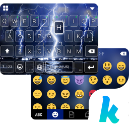 Lighting Storm Kika Keyboard