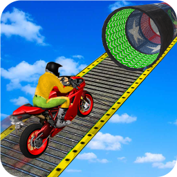 Racing Moto Bike Stunt : Impossible Track Game