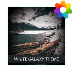 White Galaxy Theme For Xperia