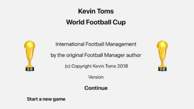 Kevin Toms World Football Cup