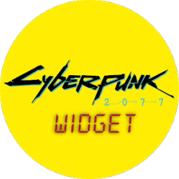 Cyberpunk 2077 Forecast Widget Wallpaper