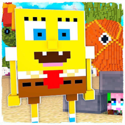 Bikini Bottom Maps and Sponge Mod for Minecraft PE